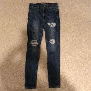 American Eagle Super Hi-Rise Jeggings// Size: 2 s